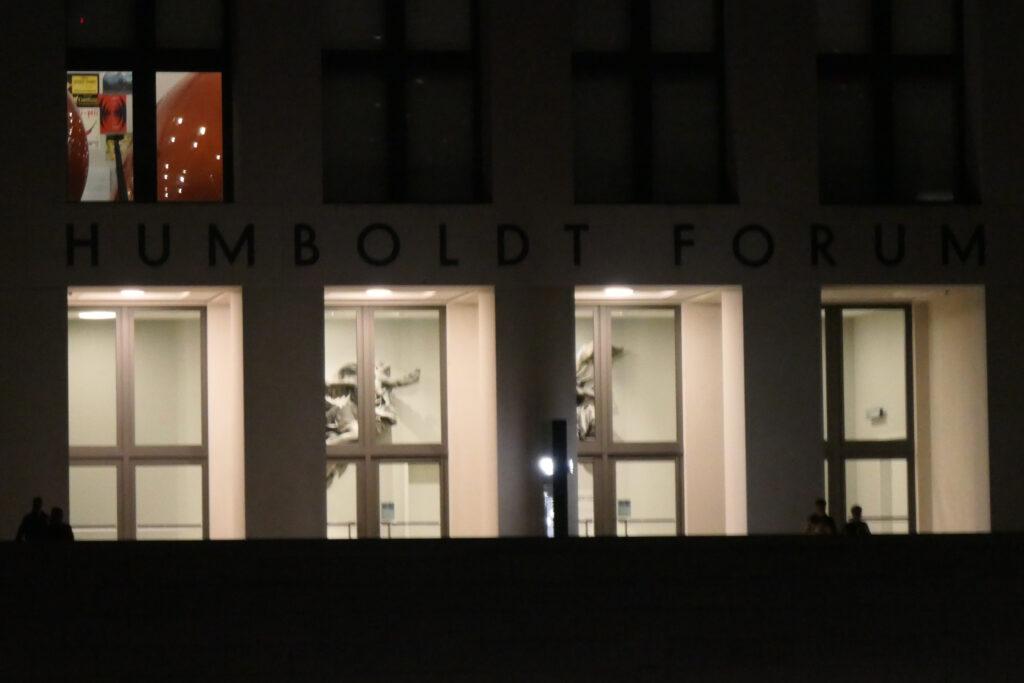 Humboldt-Forum September 2021. Foto: Ulrich Horb
