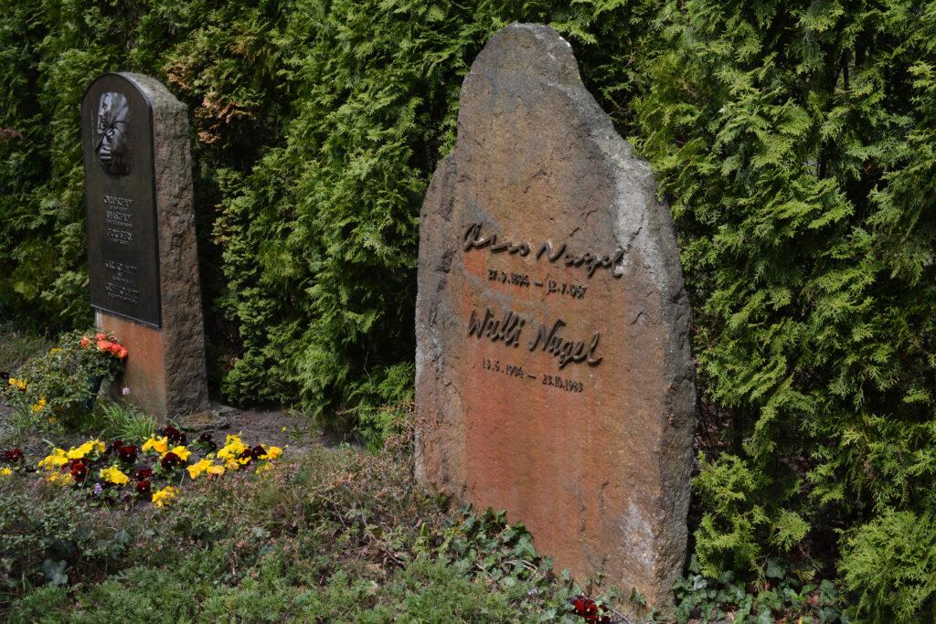 Grab von Otto Nagel. Foto: Ulrich Horb