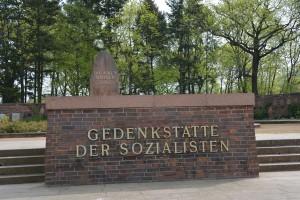 Gedenkstätte der Sozialisten Friedrchsfelde, Foto: Ulrich Horb