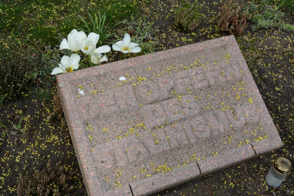 Gedenkstein für die Opfer des Stalinismus. Foto: Ulrich Horb