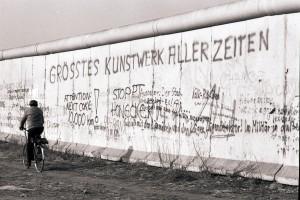 Mauer in Kreuzberg. Foto: Ulrich Horb