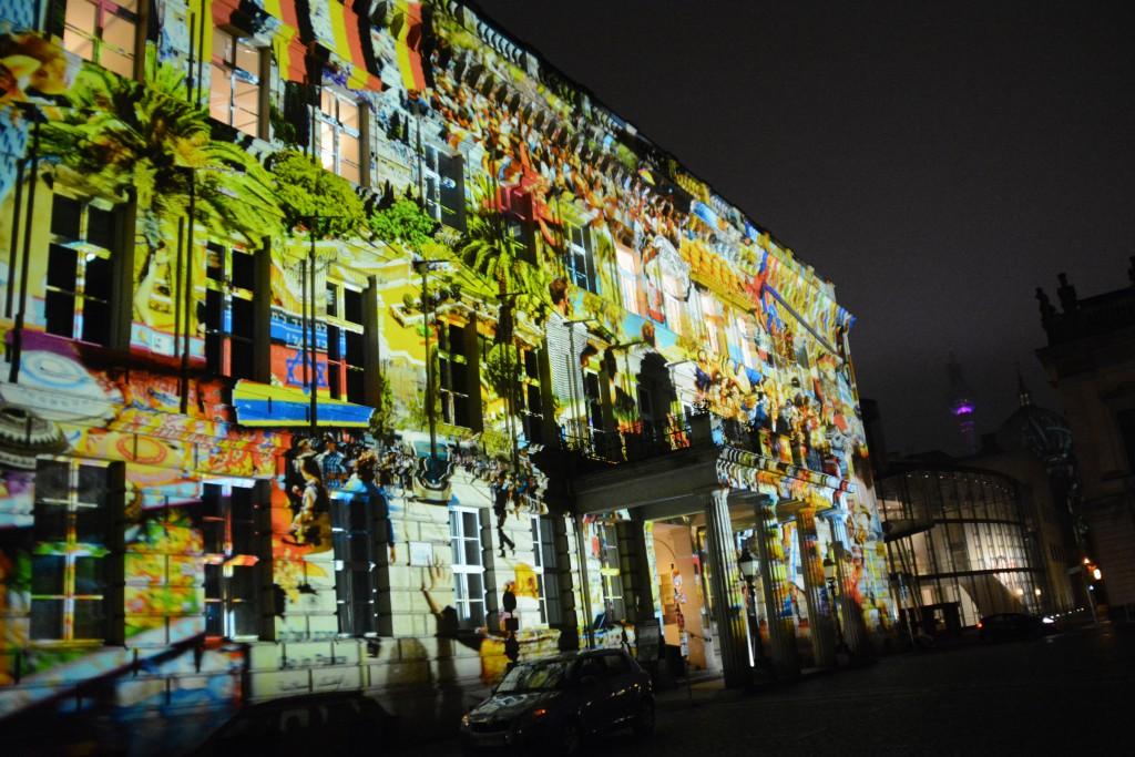 Festival of Lights: Palais am Festungsgraben. Foto: Ulrich Horb