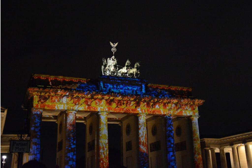 Brandenburger Tor, Festival of Lights 2015. Foto: Ulrich Horb