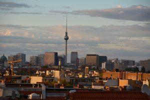 Blick von Schöneberg zum Alexanderplatz. Foto: Ulrich Horb