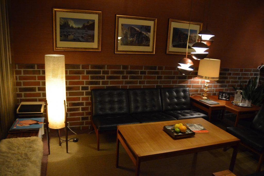 Appartement der Pan Am Lounge. Foto: Ulrich Horb
