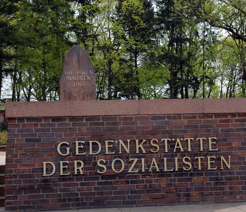 Gedenkstätte der Sozialisten. Foto: Ulrich Horb