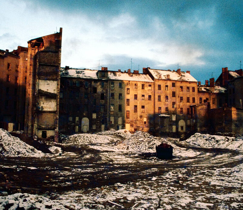Achtziger Jahre in Kreuzberg: Flächensanierung. Foto: Ulrich Horb