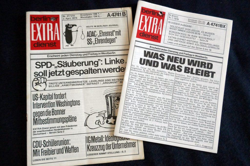"""Berliner Extradienst"". Foto: Ulrich Horb"