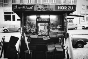 Zeitungskiosk SW 61. Foto: Ulrich Horb