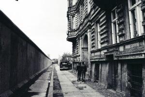 Mauer 1981. Foto: Ulrich Horb