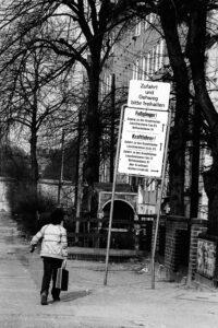 Leuschnerdamm. Foto: Horb