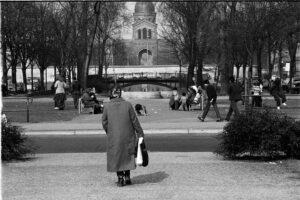 Grünzug am Oranienplatz. Foto: Horb