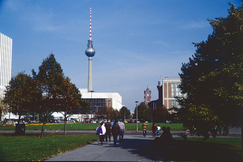 Blick zum Fernsehturm. Foto: Ulrich Horb