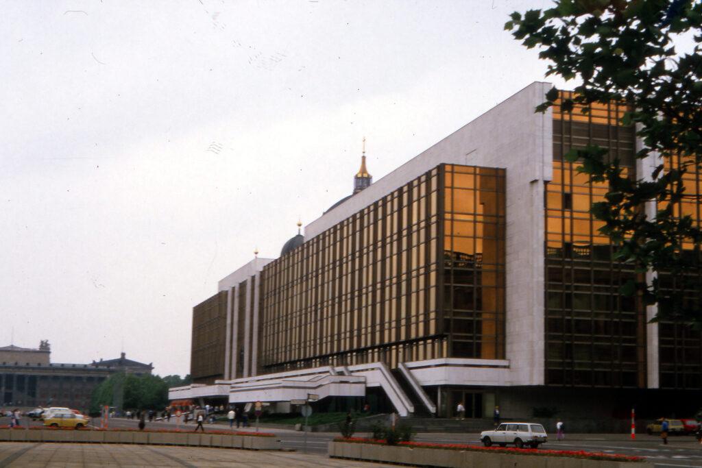 1987: Palast der Republik. Foto: Archiv Ulrich Horb