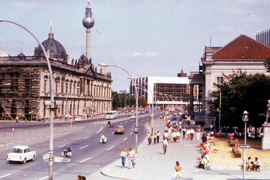 Ende der achtziger Jahre: Unter den Linden:. Foto: Archiv Ulrich Horb