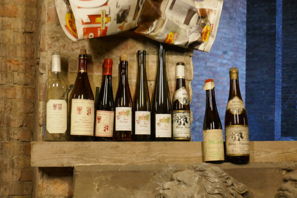 Kreuzberger Wein. Foto: Ulrich Horb