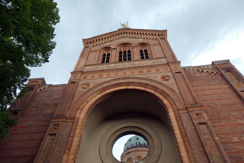 Zerstörtes Langschiff der St.-Michael-Kirche. Foto: Ulrich Horb