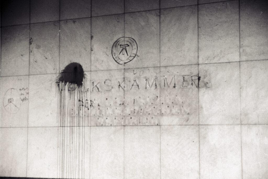 1990: Nach der Wende. Foto: Ulrich Horb