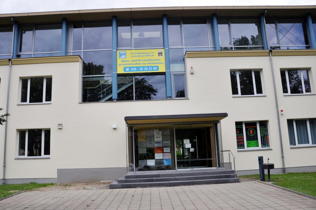 Genossenschaftsbau am Falkenberg 117. Foto: Ulrich Horb