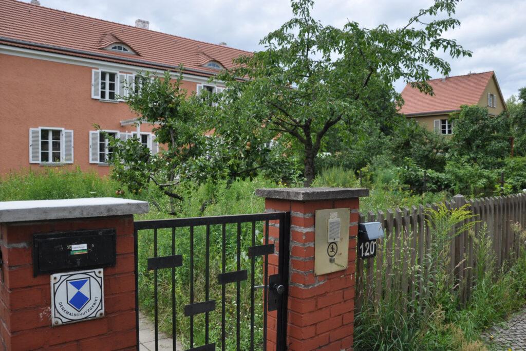 Denkmalschutzgebiet Am Falkenberg. Foto: Ulrich Horb