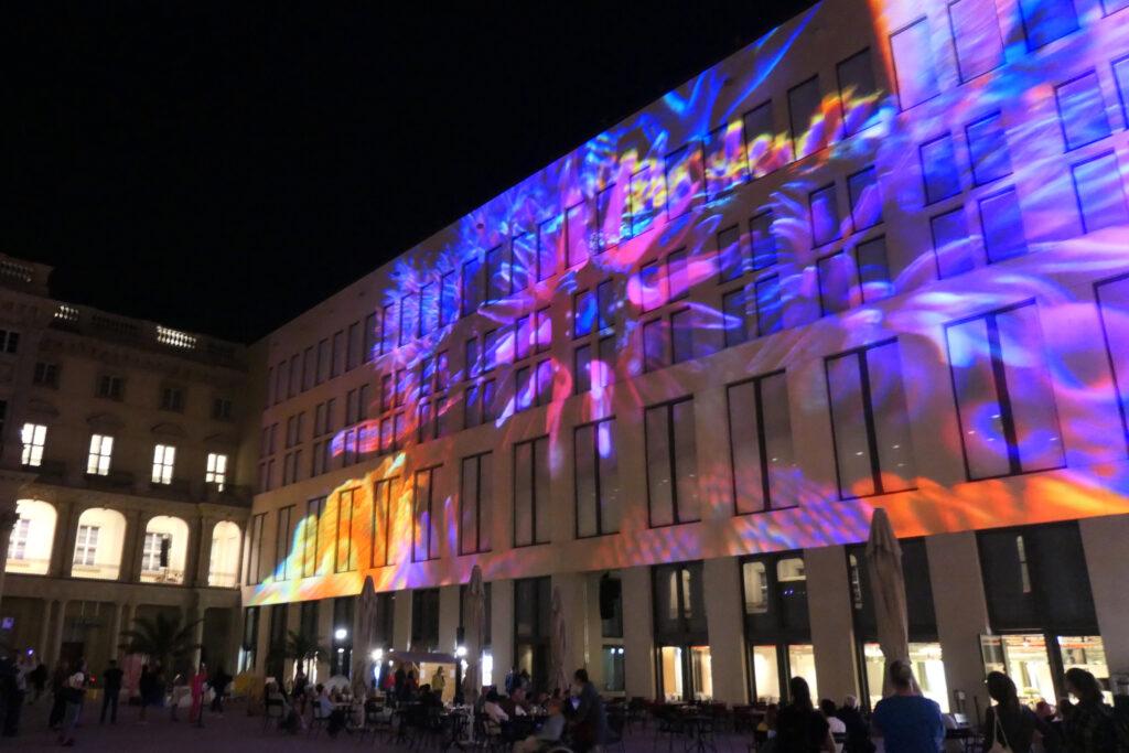 Lichterfest 2021: Humboldt-Forum. Foto: Ulrich Horb