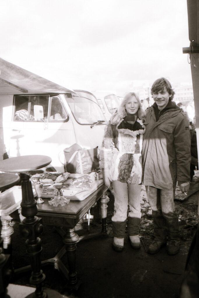 Krempelmarkt am Reichpietschufer 1982. Foto: Ulrich Horb