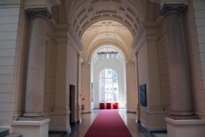 Abgeordnetenhaus: Gang zu den Sitzungssälen des Berliner Abgeordnetenhauses. Foto: Ulrich Horb