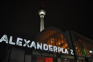 Fernsehturm am Alexanderplatz. Foto: Ulrich Horb