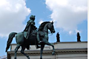 Denkmal Friedrichs des Großen Unter den Linden. Foto: Ulrich Horb