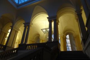Abgeordnetenhaus von Berlin: Blick in den Innenbereich. Foto: Ulrich Horb