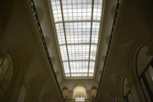 Abgeordnetenhaus Innenansicht Atrium. Foto: Ulrich Horb