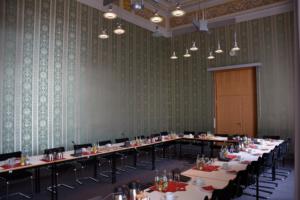 Preußischer Landtag Blick ins Innere eines Sitzungssaales. Foto: Ulrich Horb
