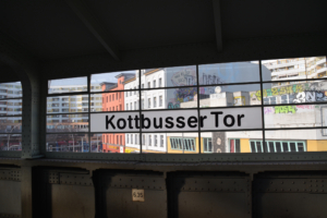 Hochbahnhof Kottbusser Tor. Foto: Ulrich Horb